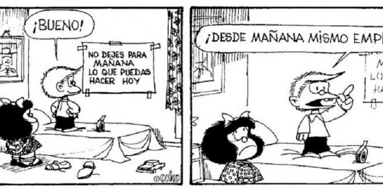 procrastinar mafalda